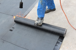 Residential and commercial flat roofs in TX